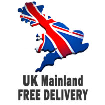 Free UK Mainland (Zone A and U - excluding Scottish surcharge areas and Ireland) only