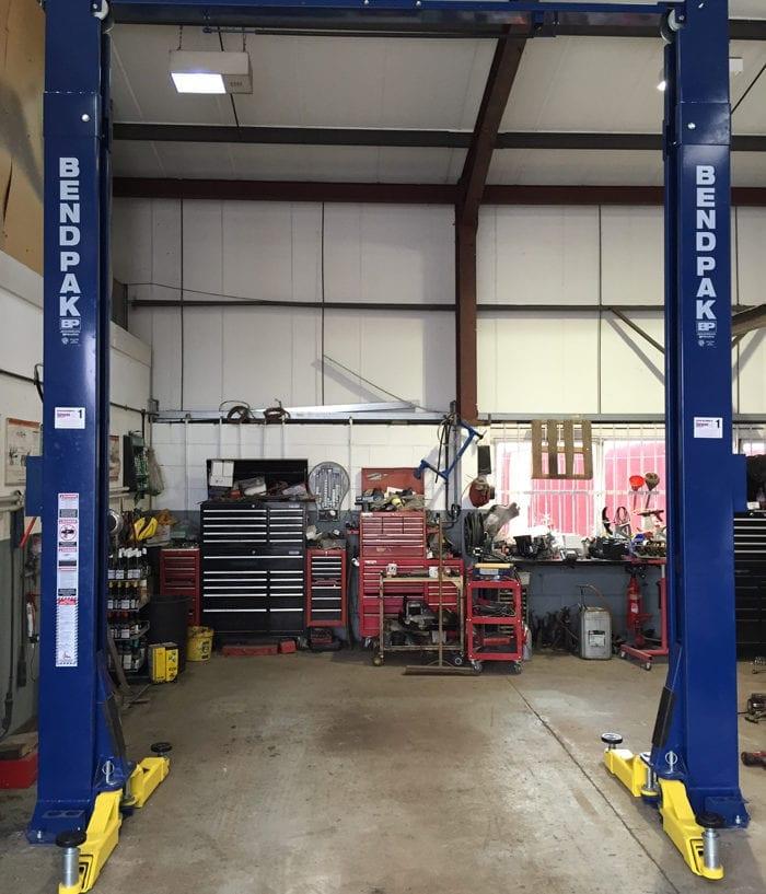 Bendpak Lift Installation in Leominster