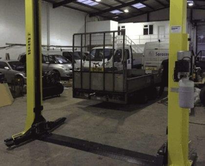 Dunlop Lift Installation in Birmingham