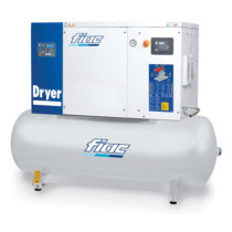 Fiac Silver Rotary Screw D25 500 Air Compressor