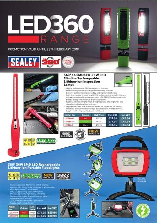 Sealey LED 360