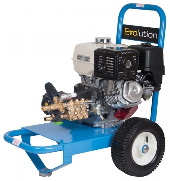 Dual Pumps Evolution 1 16200 Petrol Pressure Washer