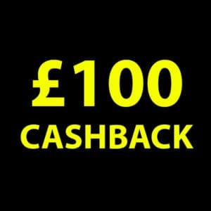 £100 Cashback
