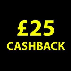 £25 Cashback