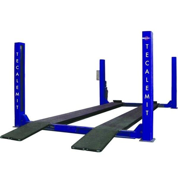 Hydraulic Lift Tubes : Tecalemit quadra sf post lift t electro hydraulic