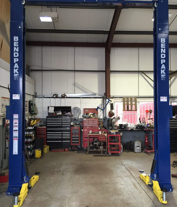 Bendpak Lift Installation in Leominster