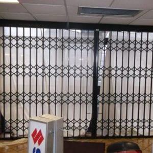 Concertina Security Gate