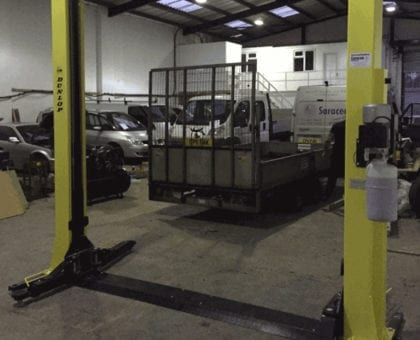 Dunlop Lift Installation in Birmingham