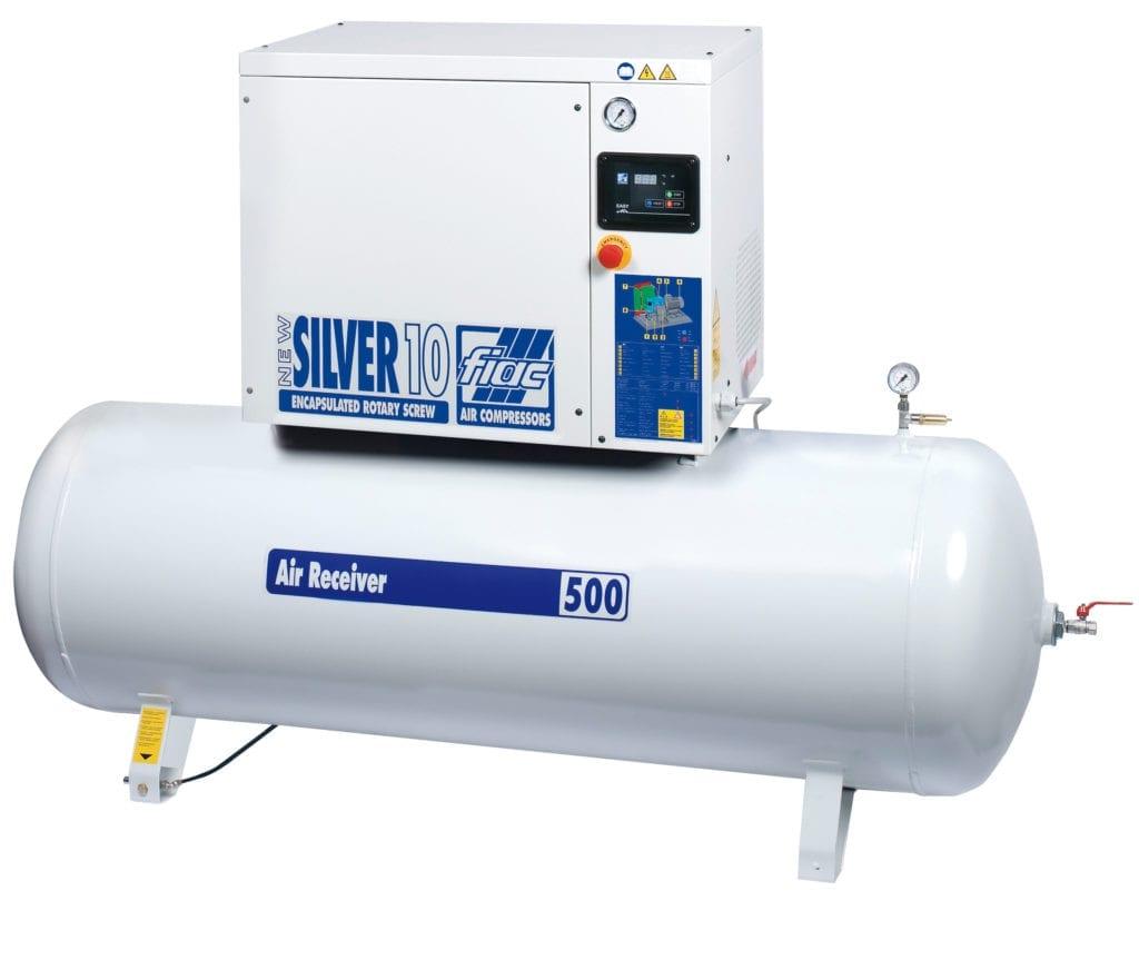 Fiac Silver Rotary Screw 30 500 Air Compressor Screw