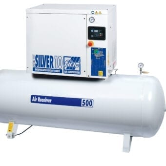 Fiac Silver Rotary Screw 30 500 Air Compressor