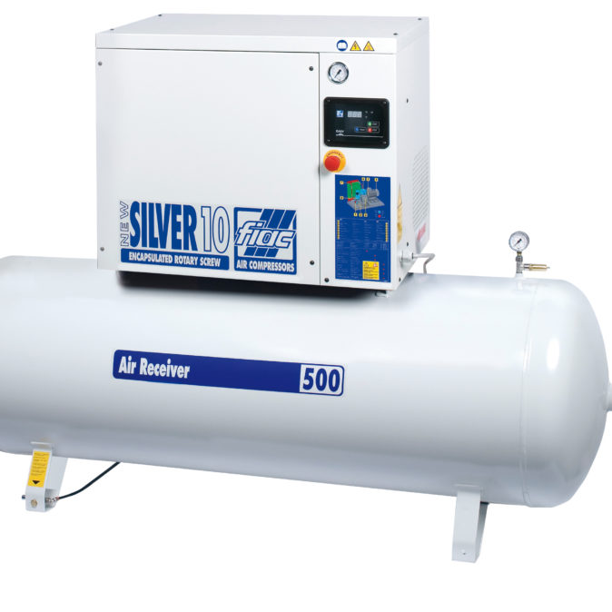 Fiac Silver Rotary Screw 30 500 Air Compressor