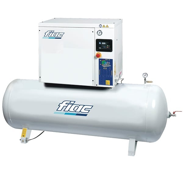 Fiac Silver Rotary Screw D15 300 Air Compressor