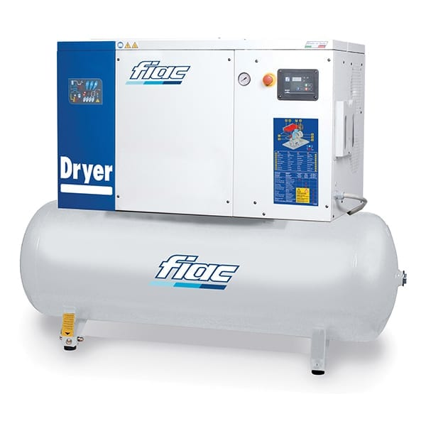 Fiac Silver Rotary Screw D25 500 Air Compressor