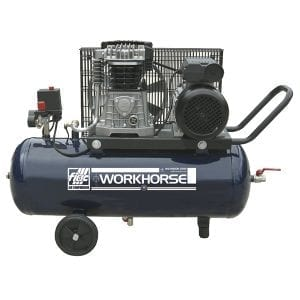 Fiac Workhorse WR3HP 100P 1 Belt Driven Air Compressor