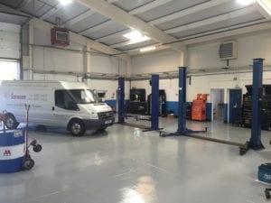 Garage Equipment Relocation
