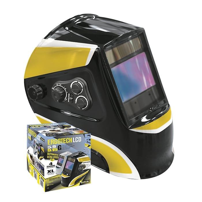 GYS Ergotech 5 9 9 13 Black Welding Helmet