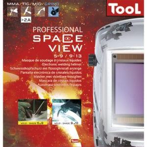 GYS LCD Spaceview 5 9 9 13 Welding Helmet