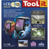 GYS LCD Zeus 5 9 9 13 G Fire Welding Helmet