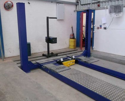 Liftmaster MOT Bay Installation in Hereford