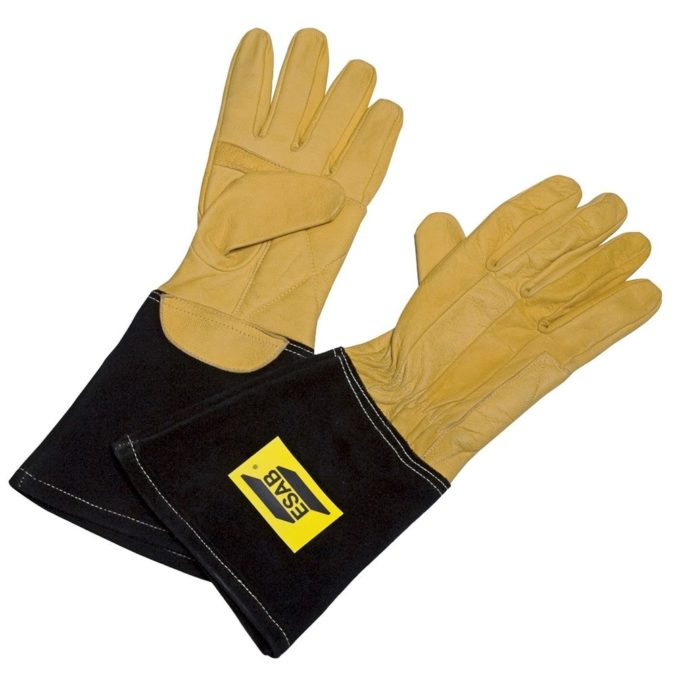 ESAB Curved TIG Welding Gloves