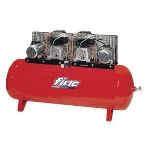Fiac ABT500-1196 Belt Driven Duplex Air Compressor