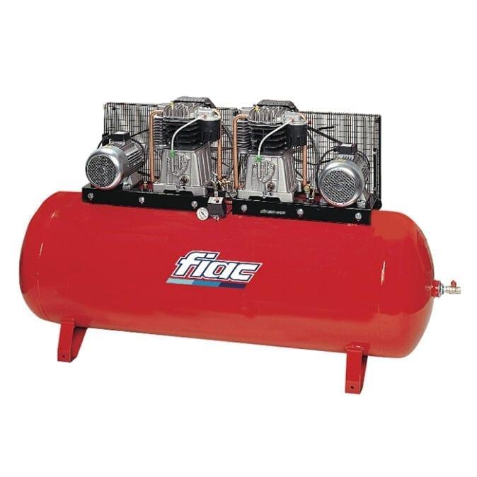 Fiac ABT500-1196 Belt Driven Duplex Air Compressor