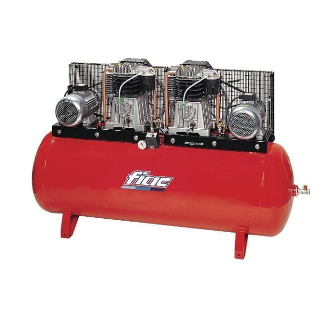 Fiac ABT500-1700 Belt Driven Duplex Air Compressor
