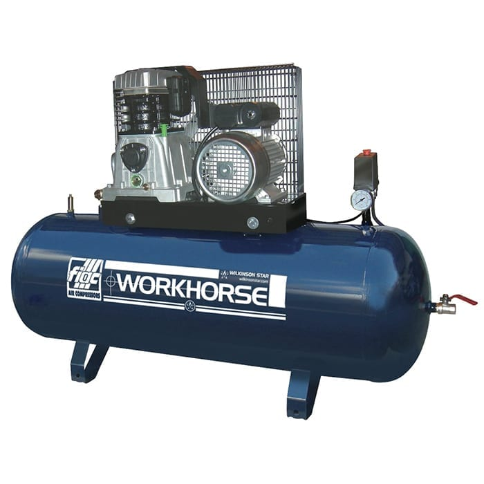 Fiac Workhorse WRN5.5HPXX 200S Belt Driven Air Compressor