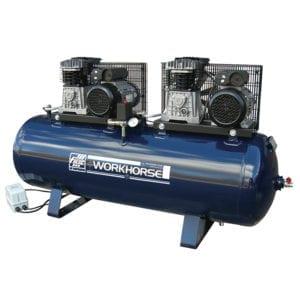 Fiac Workhorse WRT28-250S-1 240V Tandem Belt Driven Air Compressor