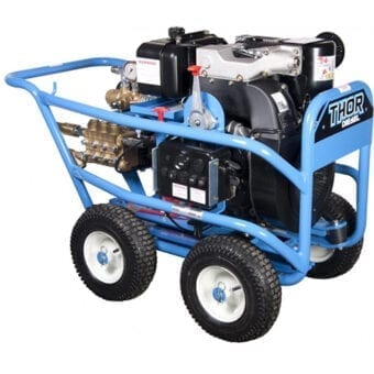 Dual Pumps Thor 18400 Diesel Pressure Washer