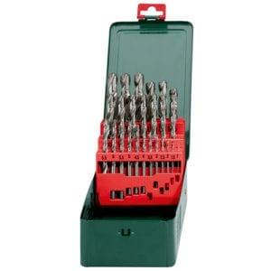 Metabo HSS G Drill Bit Set