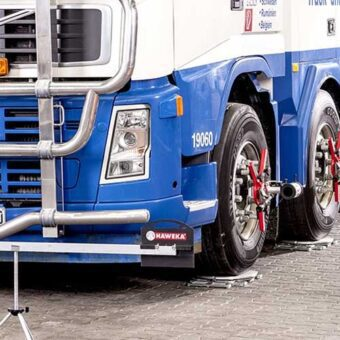 Tecalemit Computer Based Wheel Alignment For Commercial Vehicles AXIS4000