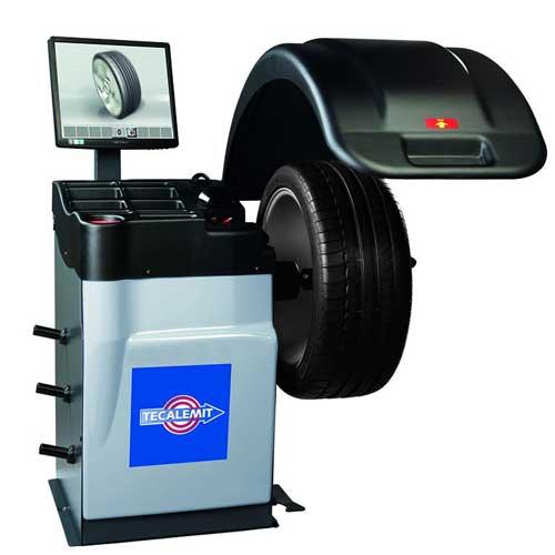 Tecalemit Wheel Balancer TBM V 9660L